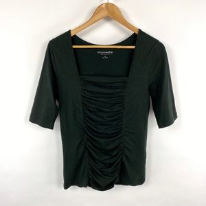 Soft Surroundings Black Tristan Top 3654
